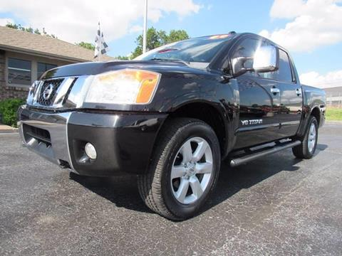 2009 Nissan Titan for sale at D & J AUTO SALES in Joplin MO