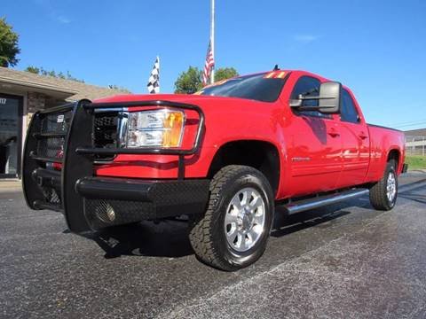 2011 GMC Sierra 2500HD for sale at D & J AUTO SALES in Joplin MO