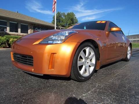 2003 Nissan 350Z for sale at D & J AUTO SALES in Joplin MO
