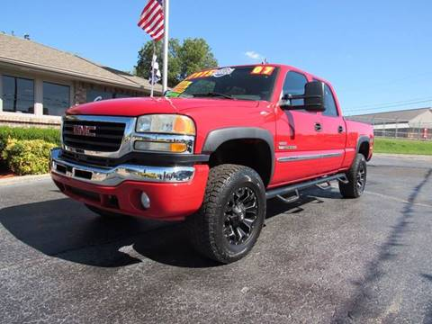 2007 GMC Sierra 2500HD Classic for sale at D & J AUTO SALES in Joplin MO