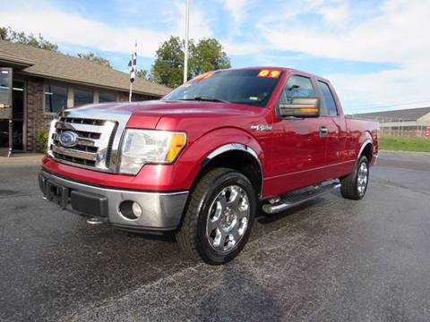 2009 Ford F-150 for sale at D & J AUTO SALES in Joplin MO
