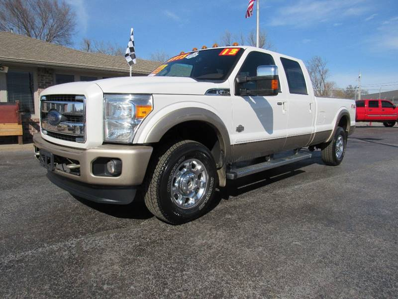 2013 ford f-350 super duty king ranch in joplin mo - d & j auto sales