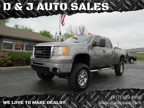 2007 GMC Sierra 2500HD for sale in Joplin, MO