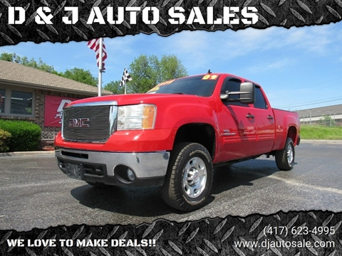 2009 GMC Sierra 2500HD for sale in Joplin, MO