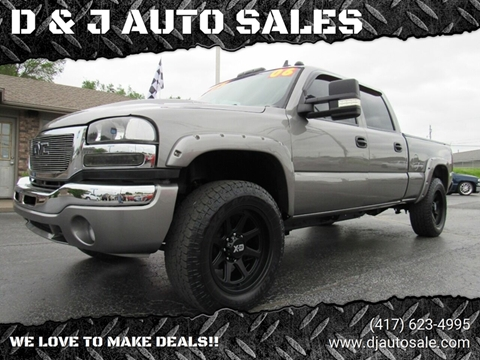 2006 GMC Sierra 2500HD for sale in Joplin, MO