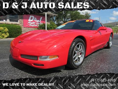 2001 Chevrolet Corvette for sale in Joplin, MO