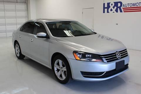 2015 Volkswagen Passat for sale in San Antonio, TX