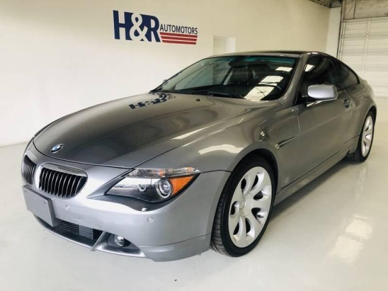 2007 BMW 6 Series for sale at H&R Auto Motors in San Antonio TX