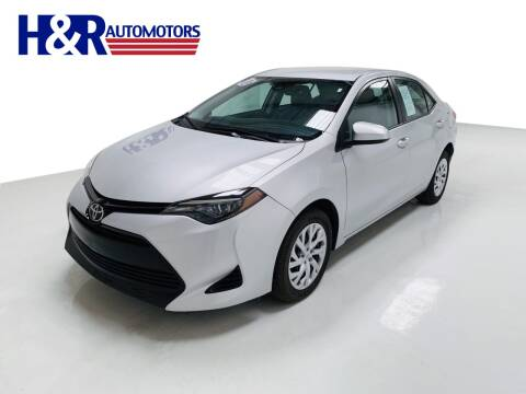 2018 Toyota Corolla for sale at H&R Auto Motors in San Antonio TX