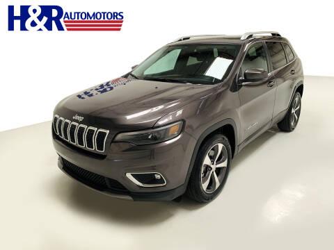2019 Jeep Cherokee for sale at H&R Auto Motors in San Antonio TX
