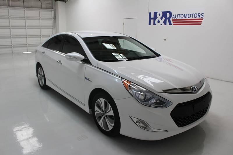 2015 Hyundai Sonata Hybrid Limited 4dr Sedan - San Antonio TX