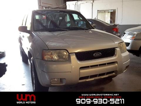 2004 Ford Escape for sale in Ontario, CA