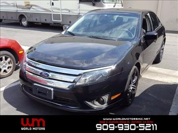 2010 Ford Fusion for sale in Ontario, CA