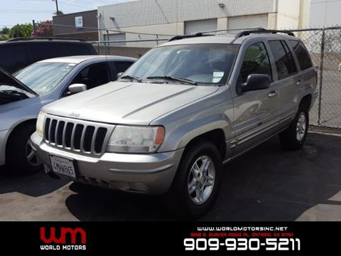 2000 Jeep Grand Cherokee for sale in Ontario, CA