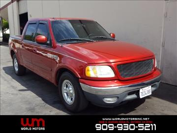 2003 Ford F-150 for sale in Ontario, CA