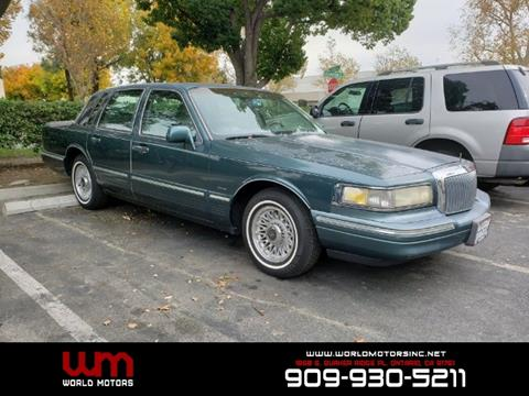 1995 Lincoln Town Car For Sale In Lufkin Tx Carsforsale Com
