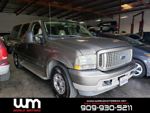 2004 Ford Excursion for sale in Ontario, CA