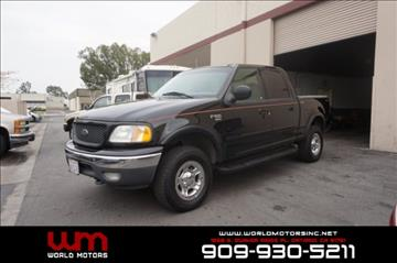 2001 Ford F-150 for sale in Ontario, CA