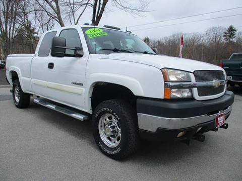 2004 chevrolet silverado 2500hd for sale in new hampshire for Lewis motor sales brentwood nh