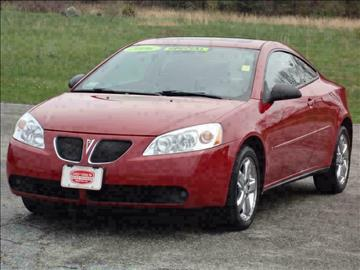 2006 Pontiac G6 for sale at Early & Sons Sales in Kingston NH