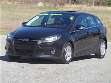2012 Ford Focus for sale at Early & Sons Sales in Kingston NH