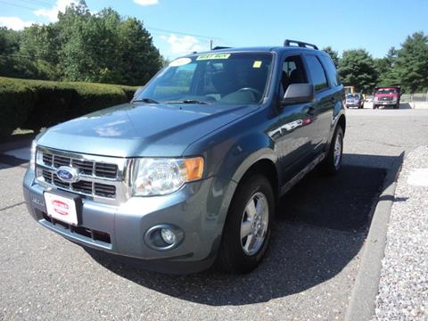2011 Ford Escape for sale at Early & Sons Sales in Kingston NH
