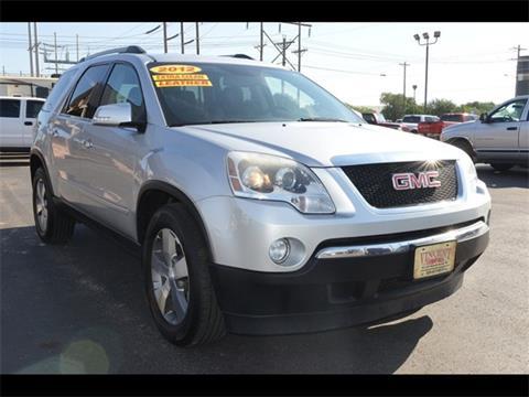 2012 GMC Acadia for sale in Abilene, TX