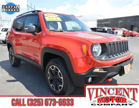 2016 Jeep Renegade for sale in Abilene, TX