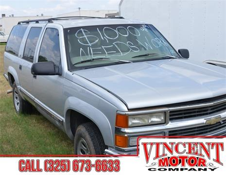 1997 Chevrolet Suburban for sale in Abilene, TX