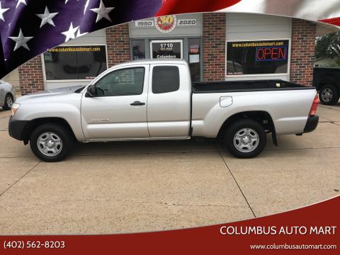 2013 Toyota Tacoma for sale at Columbus Auto Mart in Columbus NE