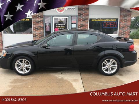 2014 Dodge Avenger for sale at Columbus Auto Mart in Columbus NE