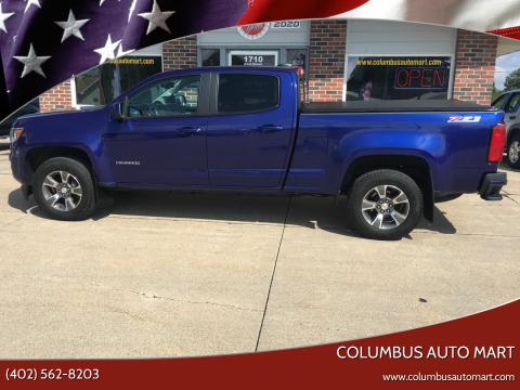 2017 Chevrolet Colorado for sale at Columbus Auto Mart in Columbus NE