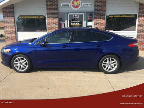2015 Ford Fusion for sale at Columbus Auto Mart in Columbus NE