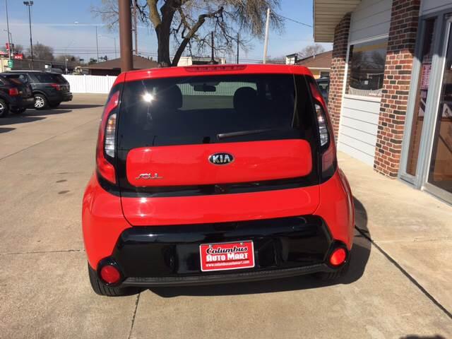 2016 Kia Soul + 4dr Wagon - Columbus NE