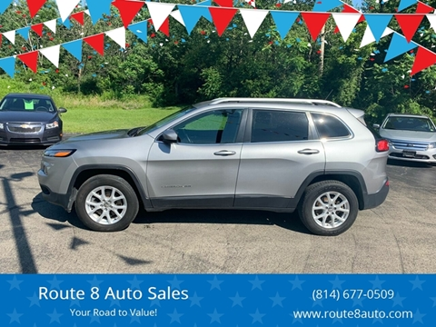 2014 Jeep Cherokee for sale in Oil City, PA