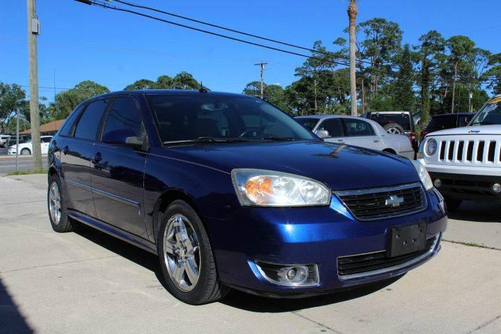 2007 Chevrolet Malibu Maxx for sale at MITCHELL AUTO ACQUISITION INC. in Edgewater FL