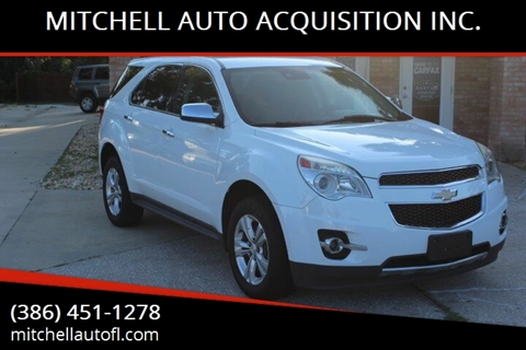 2013 Chevrolet Equinox for sale at MITCHELL AUTO ACQUISITION INC. in Edgewater FL