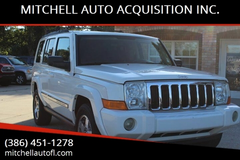 2010 Jeep Commander for sale at MITCHELL AUTO ACQUISITION INC. in Edgewater FL