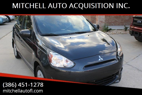 2014 Mitsubishi Mirage for sale at MITCHELL AUTO ACQUISITION INC. in Edgewater FL