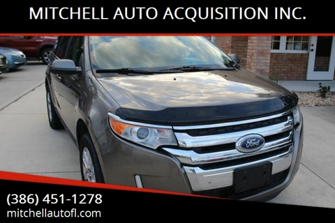 2014 Ford Edge for sale at MITCHELL AUTO ACQUISITION INC. in Edgewater FL