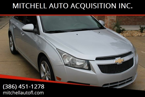 2012 Chevrolet Cruze for sale at MITCHELL AUTO ACQUISITION INC. in Edgewater FL