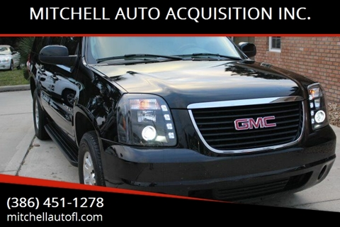 2008 GMC Yukon XL for sale at MITCHELL AUTO ACQUISITION INC. in Edgewater FL