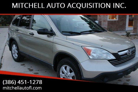 2009 Honda CR-V for sale at MITCHELL AUTO ACQUISITION INC. in Edgewater FL