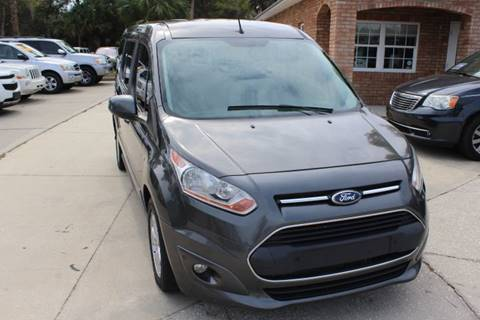 2015 Ford Transit Connect Wagon for sale at MITCHELL AUTO ACQUISITION INC. in Edgewater FL