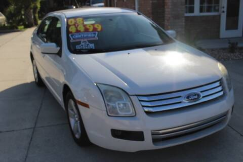 2008 Ford Fusion for sale at MITCHELL AUTO ACQUISITION INC. in Edgewater FL
