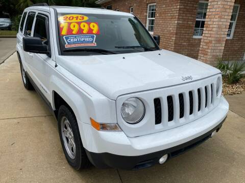 2013 Jeep Patriot for sale at MITCHELL AUTO ACQUISITION INC. in Edgewater FL