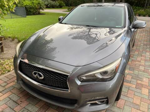 2014 Infiniti Q50 for sale at MITCHELL AUTO ACQUISITION INC. in Edgewater FL