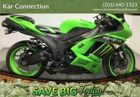 2008 Kawasaki ZX600P8F NINJA ZX-6R for sale in Little Ferry, NJ