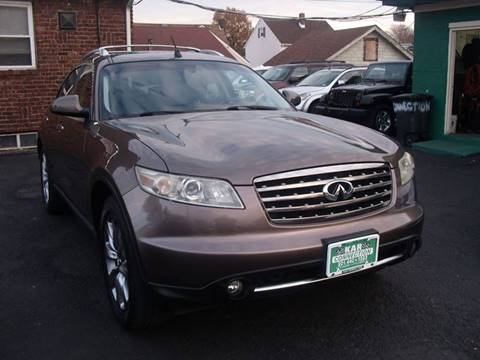 2006 Infiniti FX45 for sale at Kar Connection in Little Ferry NJ