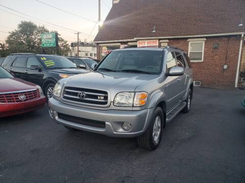 2002 Toyota Sequoia for sale at Kar Connection in Little Ferry NJ